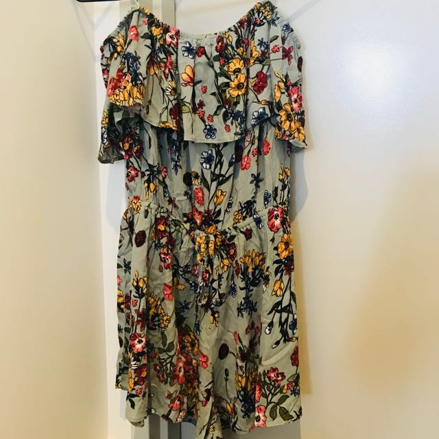 BNWT Off the Shoulder playsuit