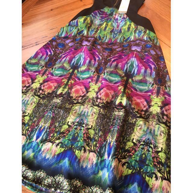 BNWT Spicy sugar print dress, size 12