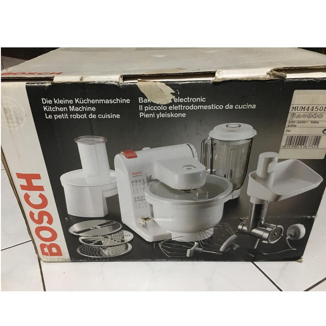 BOSCH MUM4450 E ( Blender , Mixer & Penggiling Daging )