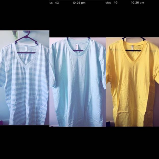 Brand New American Apparel XL T Shirts