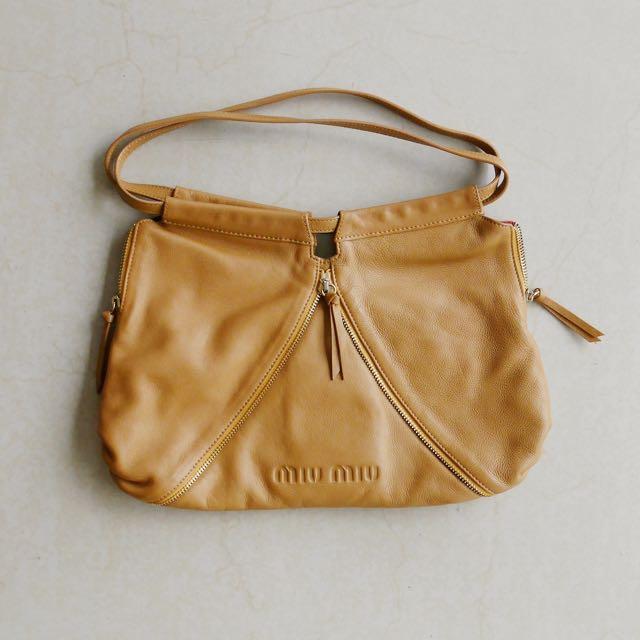 Brown Miu Miu Bag