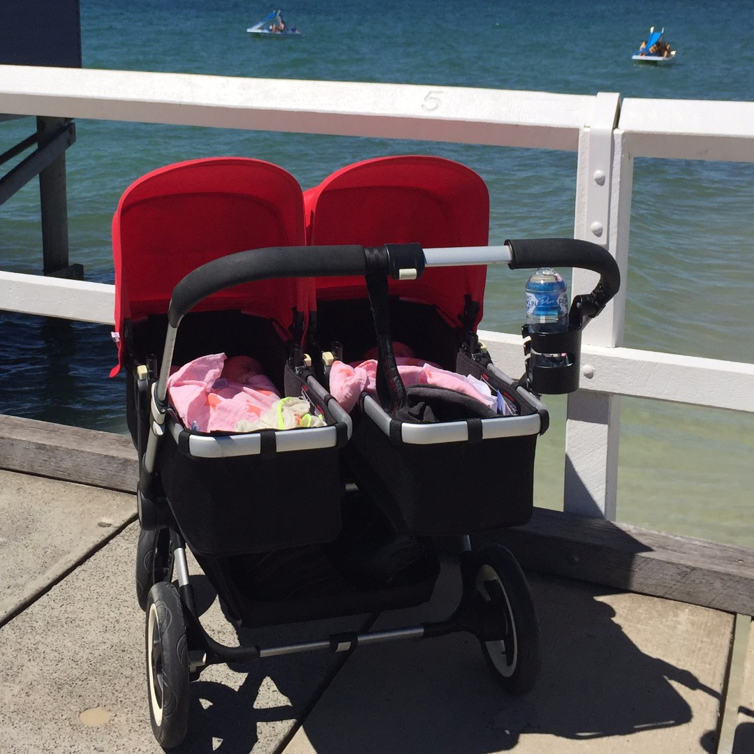 Bugaboo Donkey Twin Double Stroller Converts To Mono And Duo