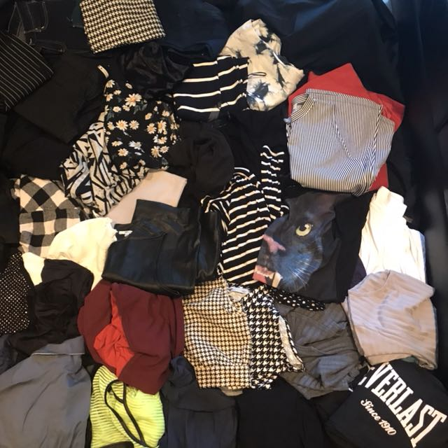 BULK LOT OF CLOTHES 55+ ITEMS