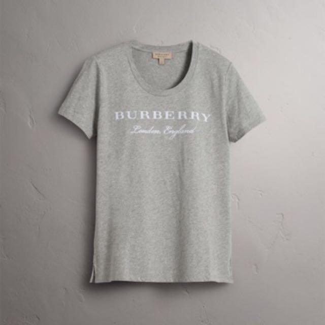 Burberry logo tee