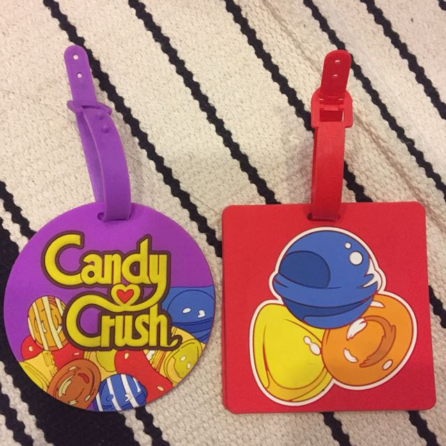 Candy Crush Luggage Tag