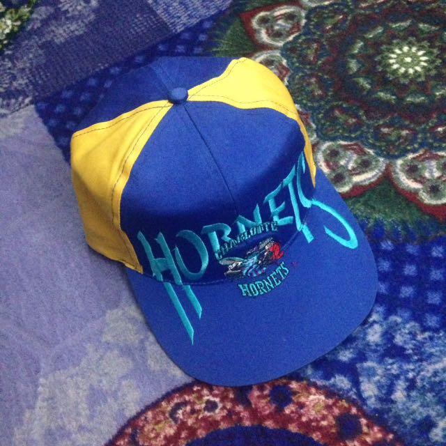 CAP CHARLOTTE HORNETS NBA VINTAGE