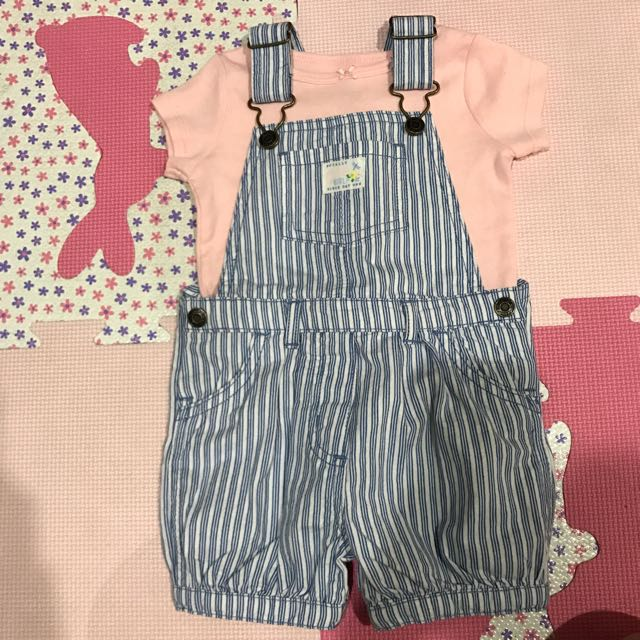 Cater's吊帶褲+上衣