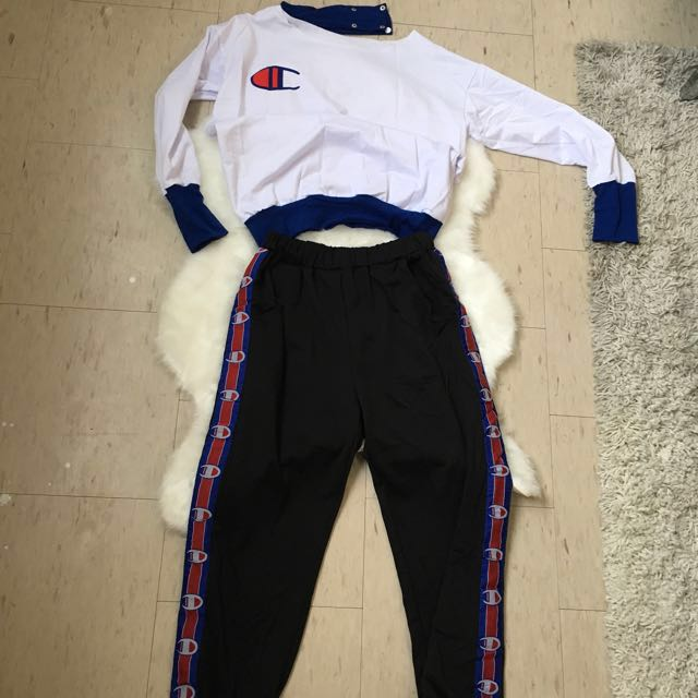 Champion pant and top