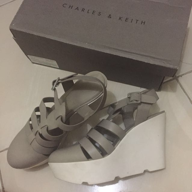 Charles and Keith CnK wedges