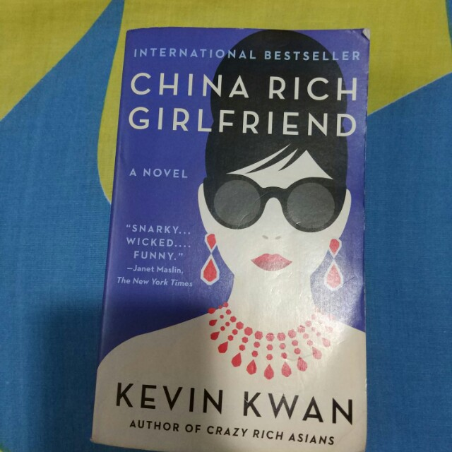 China Rich Girlfriend Kevin Kwan
