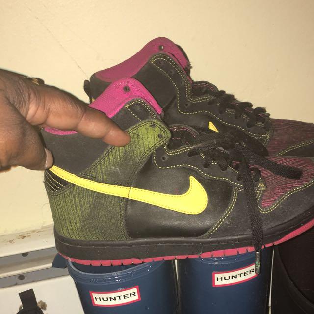 Colourful Nikes