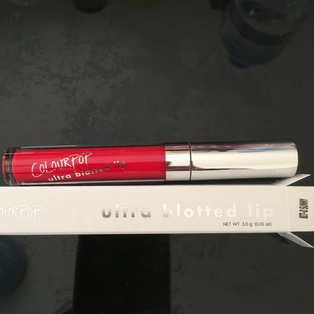 "Colourpop Ultra Blotted Lip ""Bit-O-Sunny"""