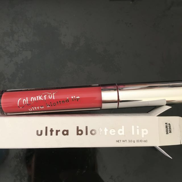 "Colourpop Ultra Blotted Lip ""Double Scoop"""