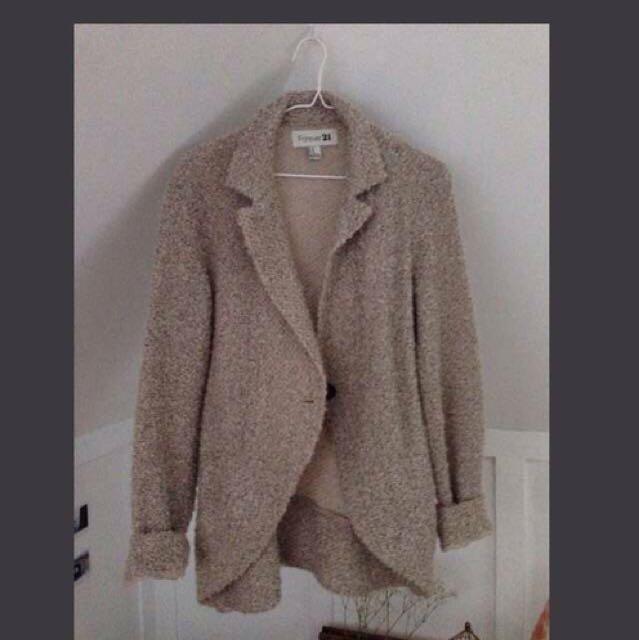 Comfy Lapel Jacket