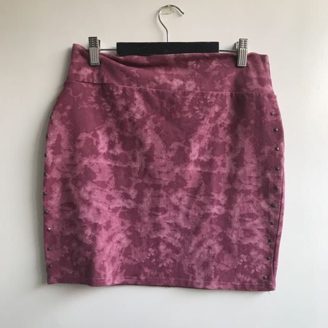 Cotton on Pink bandage skirt
