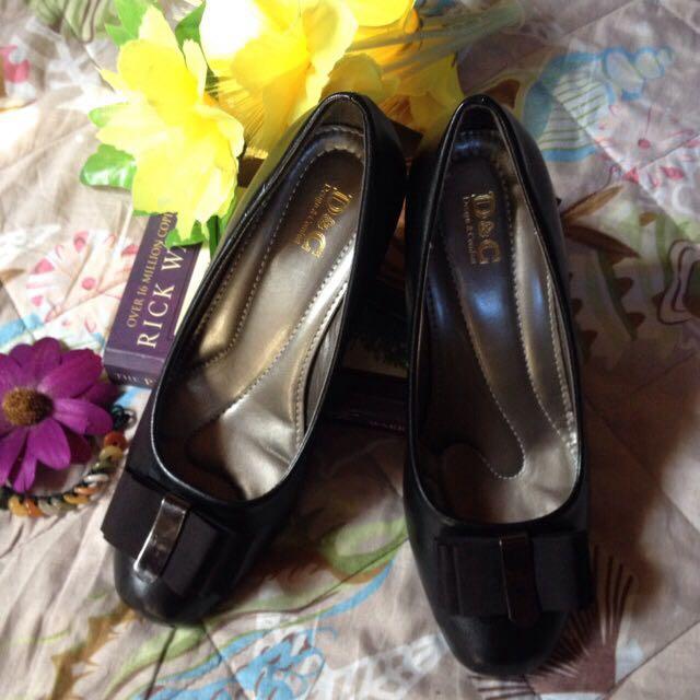 ❤️D & C Cute Black Shoes