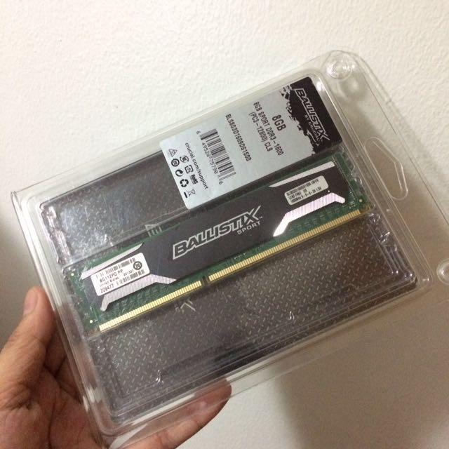 DDR3 8GB Desktop RAM
