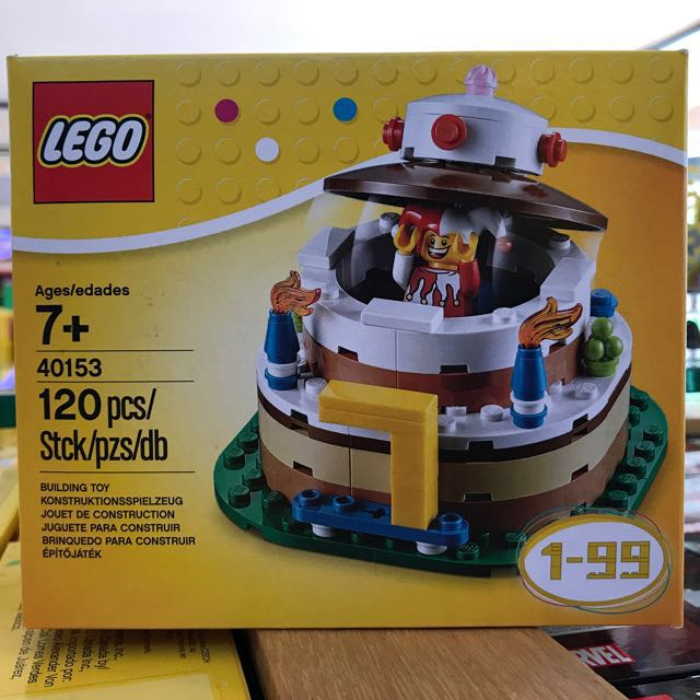 LEGO 40153 Birthday Table Decoration Factory Brand New Sealed