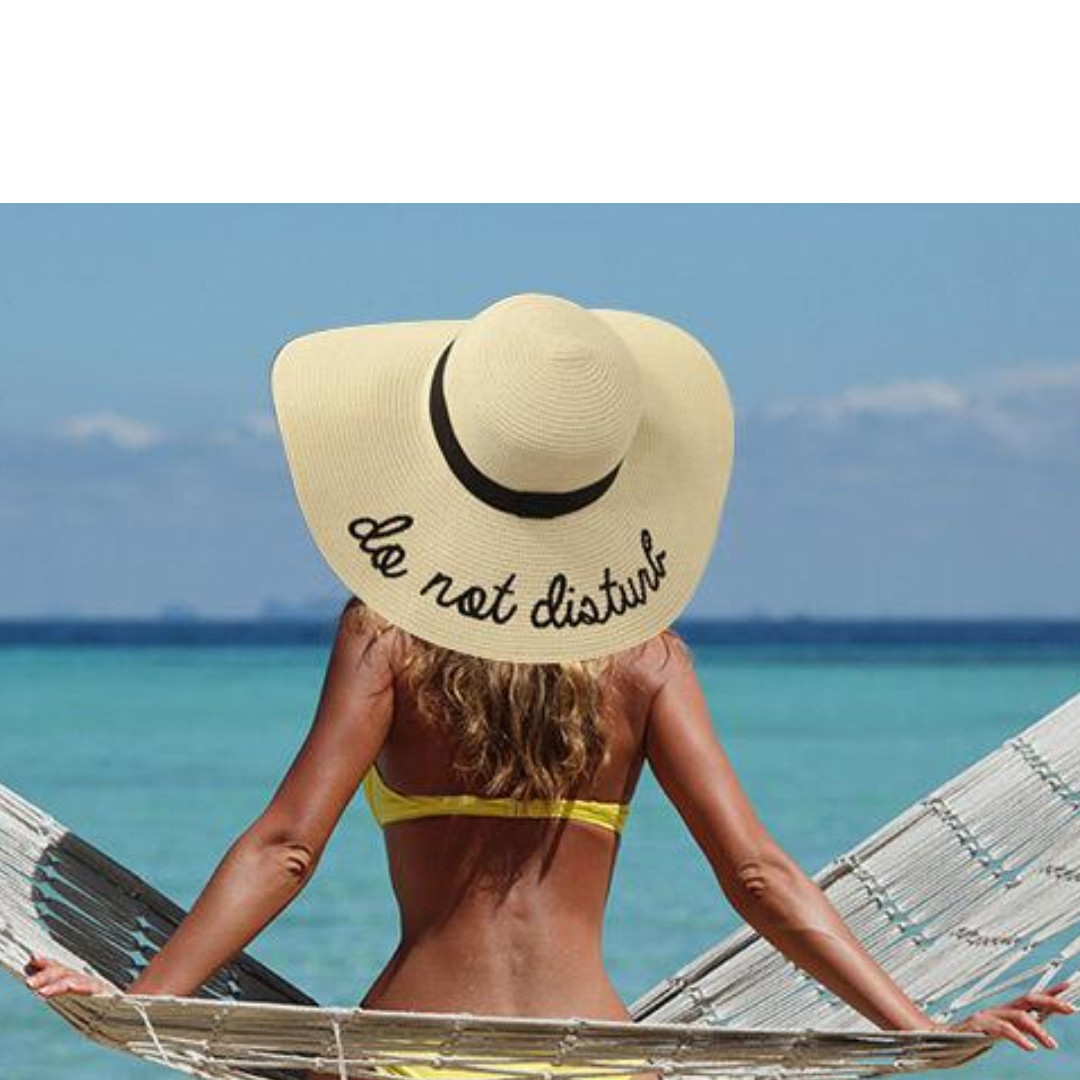 266688aec25 Do not disturb Beach Hat