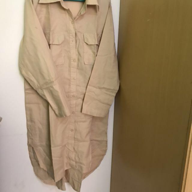 Dress Tunik Khaki