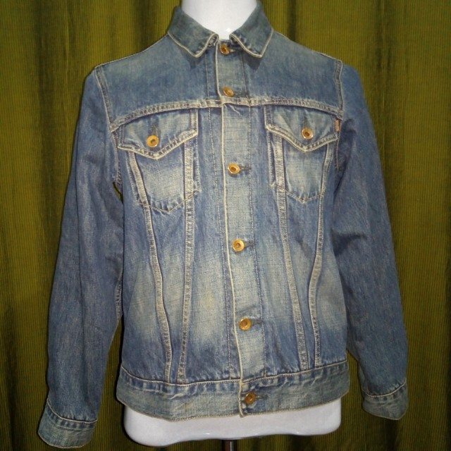 a98ecd885f1 Edwin selvedge jean jacket, Men's Fashion, Clothes on Carousell