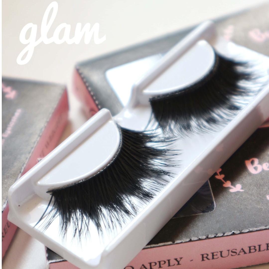 Eyelashes - Glam (Bulu mata palsu)
