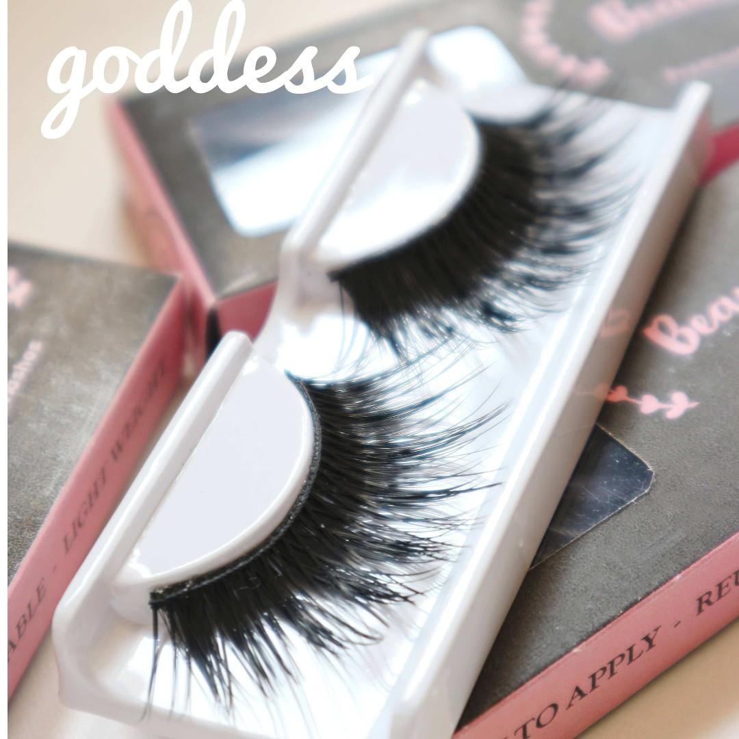 Eyelashes - Goddess (Bulu mata palsu)
