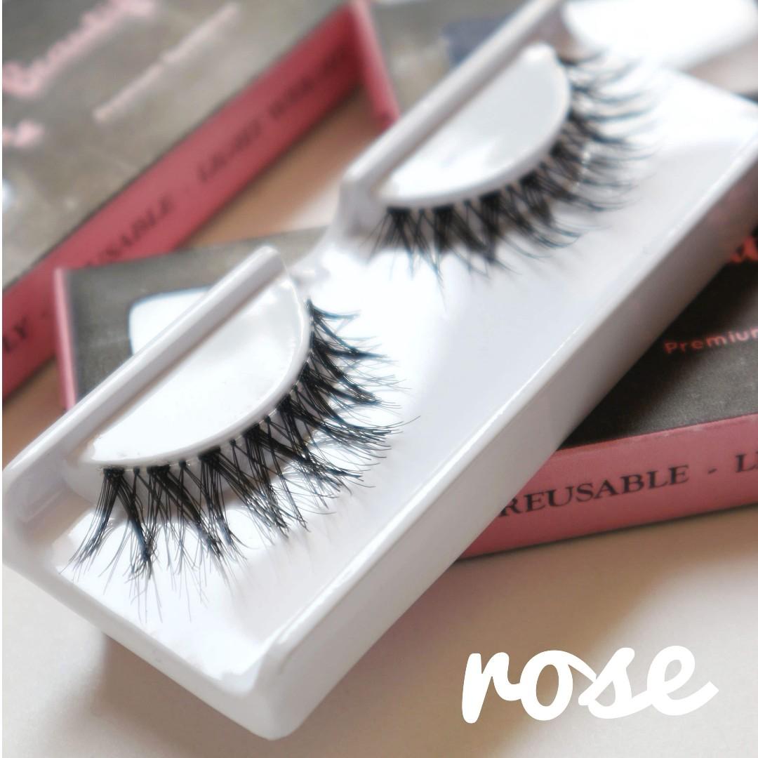 Eyelashes - Rose (Bulu mata palsu)