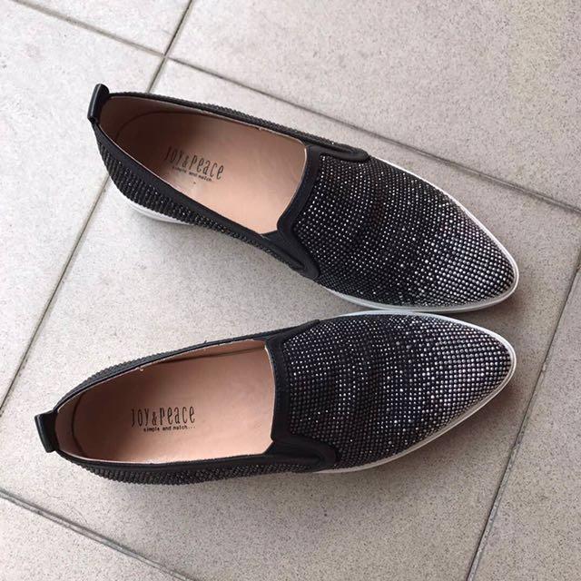FAST DEAL!!Joy & Peace Swarovski Shoes