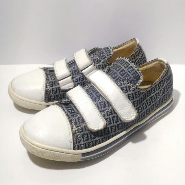 Fendi Velcro Monogram Sneakers Original