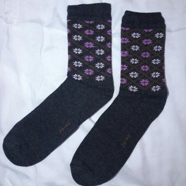 Flowy Sock