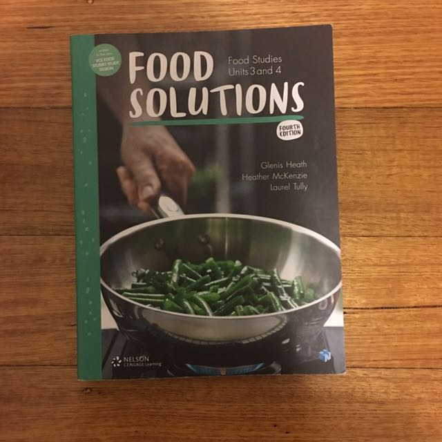 Food solutions UNITS 3&4