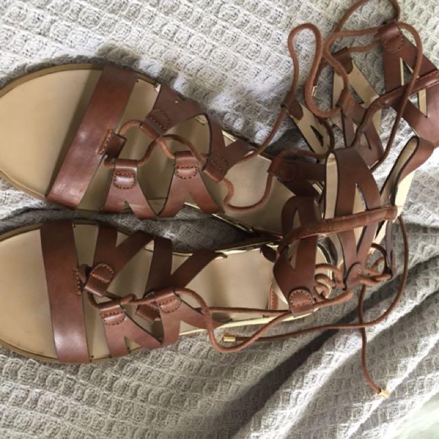 REDUCED Forever New Gladiator Sandals