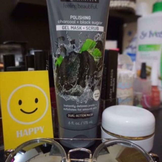 Freeman Mask Polishing Charcoal & Black Sugar ( gel mask & scrub)