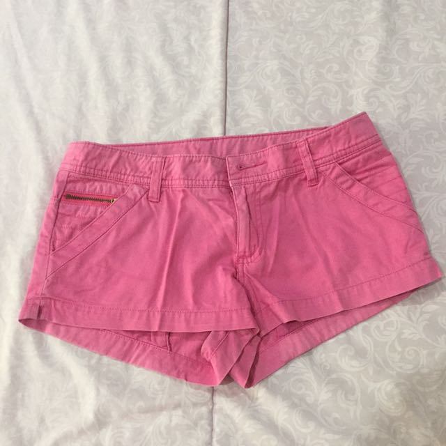 Fuchsia Divided (by H&M) Hot Pants