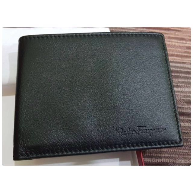 Genuine Leather Wallet - Salvatore Ferragamo Men Revival Leather ... e0821c055a