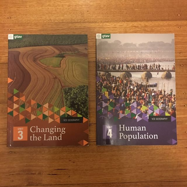 GEOGRAPHY TEXTBOOKS BUNDLE