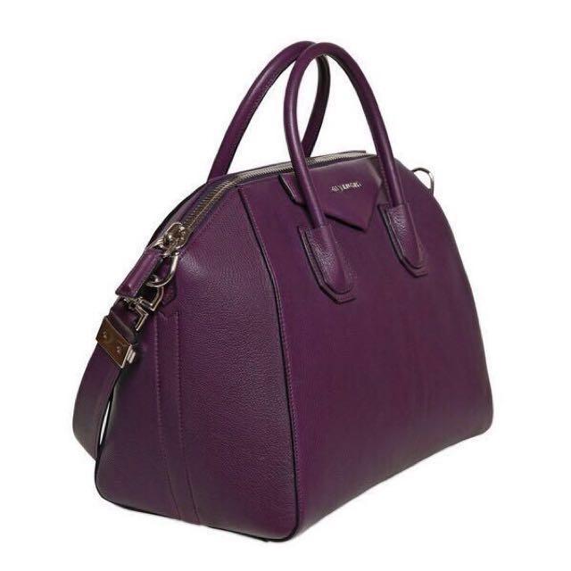 Givenchy Antigona Medium (Dark Purple)  c87b5b42b5824