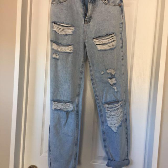 Glassons Denim mom jeans