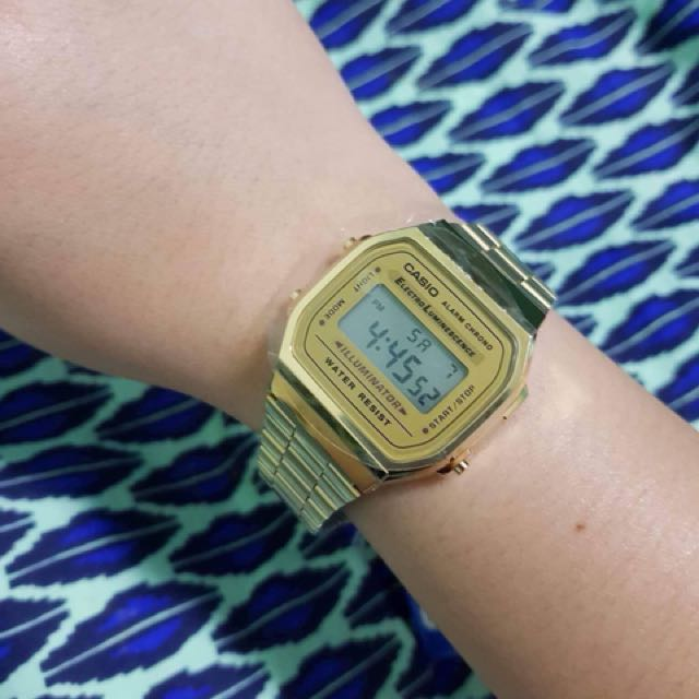Gold Casio Original