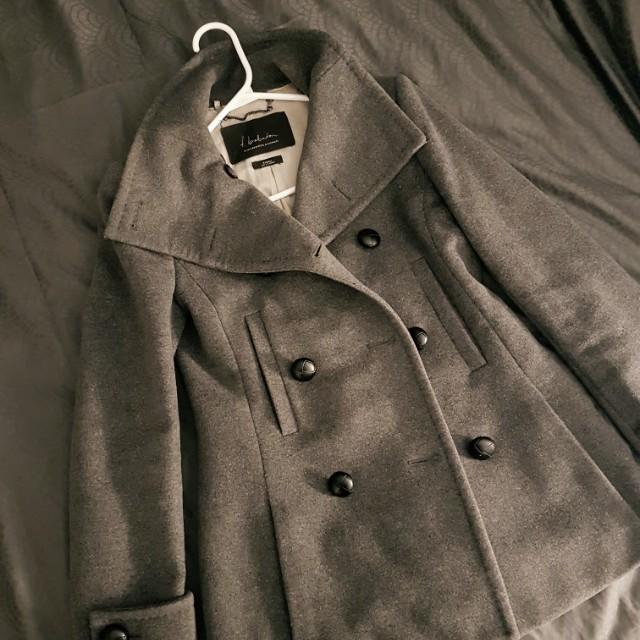 Grey Cashmere Fall/Winter Jacket