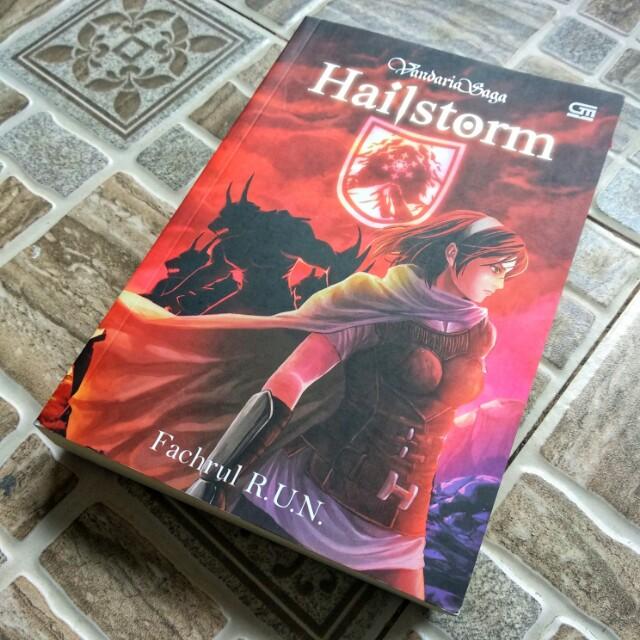 Hailstom (Vandaria Saga) by Fachrul R.U.N
