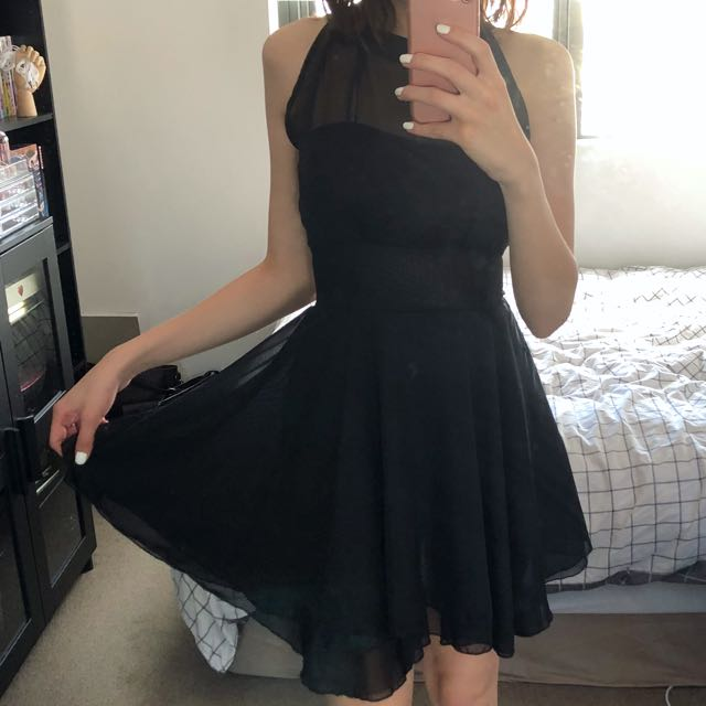 Halter Neck Formal Dress