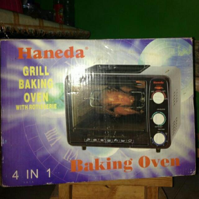 Haneda Grill Baking Oven KWS 160A