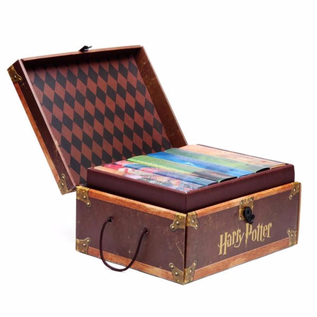 harry potter hardbound book boxed set books books on carousell