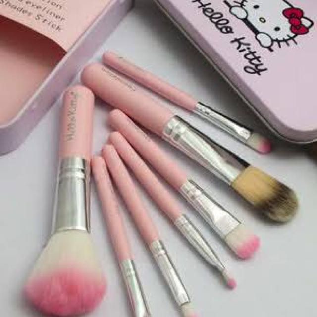 Hello kitty Make Up Brush Set