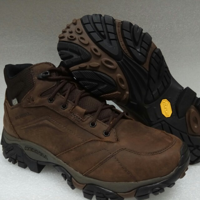 b16b37bf13c Hiking Boots Merrell Moab Adventure Mid Waterproof Size US 9.0 ...