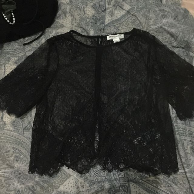 H&M Coachella Lace Top