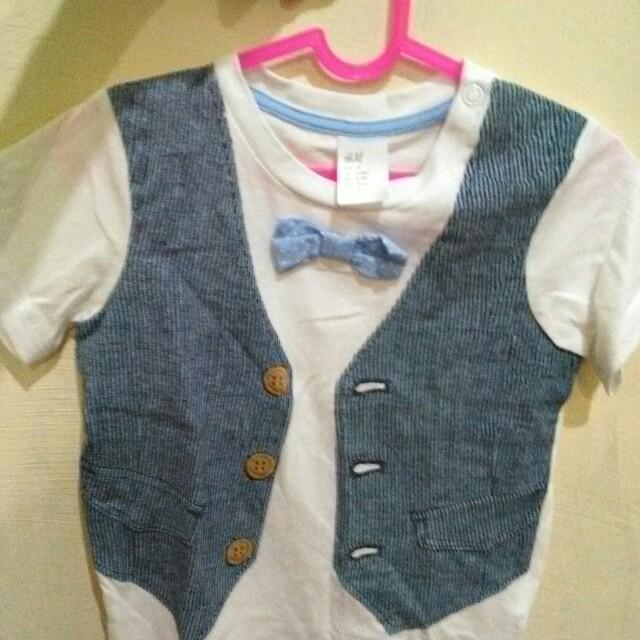 Kaos H&M plus celana