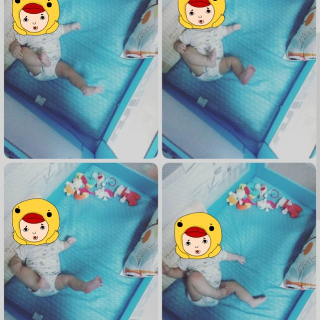 Hokun遊戲床 嬰兒床#寶貝過新年